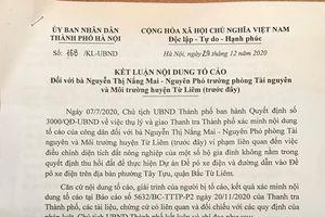 Lột 'mặt nạ' hành vi điều chỉnh GCNQSDĐ sai quy định tại dự án đề pô xe điện đoạn Nhổn - ga Hà Nội tại Bắc Từ Liêm