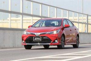 Xếp hạng xe hạng C tháng 12/2020: Toyota Corolla Altis gần bét bảng