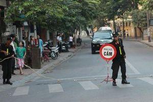 Hà Nội: Cấm nhiều tuyến phố phục vụ đại hội Đảng XIII