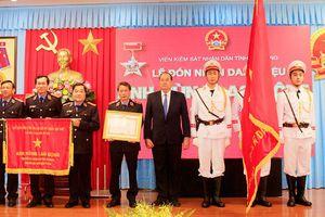 Viện Kiểm sát nhân dân (VKSND) tỉnh An Giang đón nhận danh hiệu 'Anh hùng lao động'