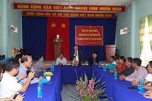 Lãnh đạo tỉnh Khánh Hòa thăm, chúc Tết người dân xã Giang Ly