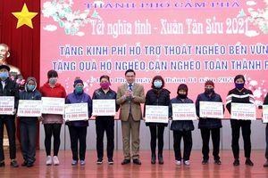 TP Cẩm Phả hỗ trợ gần 700 triệu đồng cho các hộ nghèo, hộ cận nghèo