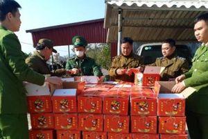 Lạng Sơn: Thu giữ gần 2 tấn hồng sấy dẻo nhập lậu