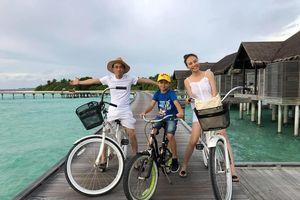 Đàm Thu Trang khoe ảnh đi chơi cùng Cường Đô La, Subeo