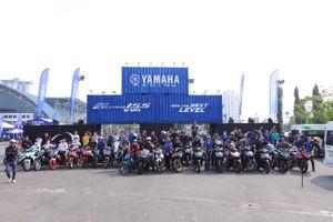 Hàng trăm tay lái Winner X, Satria, Sonic đổ xô tới lái thử Exciter 155 VVA