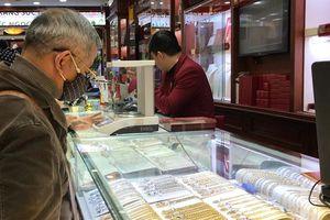 Cuối tuần, giá vàng giảm 250.000 đồng/lượng