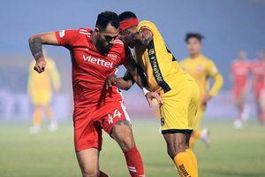Thất bại 0-1 trước Hải Phòng, Viettel trắng tay trên sân nhà
