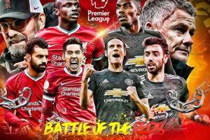 Đồ họa chi tiết so sánh sự khác biệt hai trường phái bóng đá của Liverpool và MU