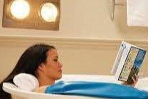 Lưu ý khi sử dụng đèn sưởi nhà tắm để tránh gây hại