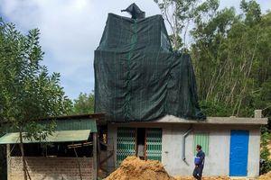 Xây dựng trái phép tràn lan ở Khu kinh tế Nhơn Hội