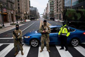 Bắt giữ người mang súng và 500 viên đạn đến Washington D.C.