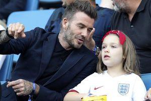 David Beckham tự hào về khiếu hội họa của con gái