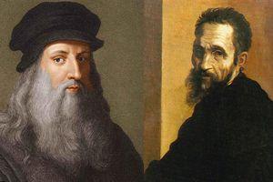 Sự đối lập giữa hai nghệ sĩ vĩ đại thời Phục Hưng