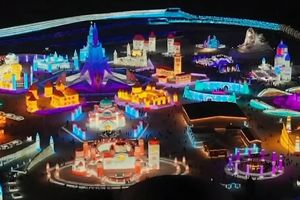 'Thị trấn băng' Trung Quốc đìu hiu do Covid-19