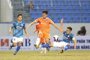 Vòng 1 V-League 2021: Hà Đức Chinh ghi bàn giúp SHB Đà Nẵng đánh bại TP Hồ Chí Minh