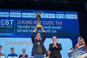 Quán quân Techfest Việt 2020 được rót vốn 1 triệu USD