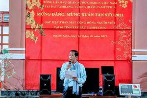 Cộng đồng người Việt Nam tại tây bắc Campuchia mừng Đảng, mừng Xuân