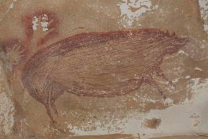 Phát hiện tranh hang động hơn 45.000 năm