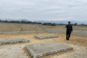 Điện Biên: Nghĩa trang bản Món thành đất nền tứ xứ thập phương