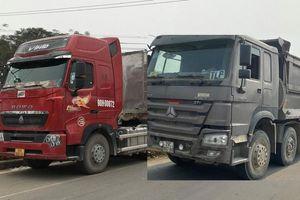Nhiều trường hợp xe quá tải di chuyển qua cầu Thăng Long bị xử phạt