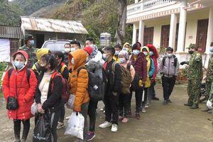 Lào Cai: Bắt giữ 35 đối tượng nhập cảnh trái phép