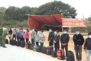 Phát hiện 28 công dân nhập cảnh trái phép từ Trung Quốc vào Việt Nam