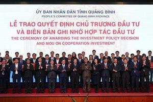 Quảng Bình thu hút hơn 92.000 tỷ đồng từ các nhà đầu tư