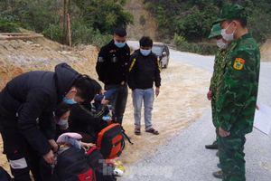 Liên tiếp bắt giữ người nhập cảnh trái phép qua biên giới Lạng Sơn