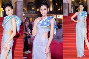 Hoa hậu Đỗ Thị Hà diện đầm khoét eo quyến rũ nhất tuần