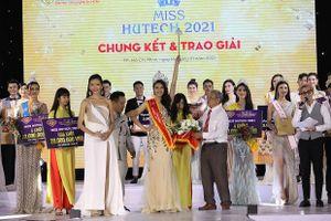 Lộ diện tân Hoa khôi Miss HUTECH 2021