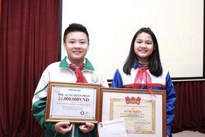 Học sinh Bắc Ninh đạt giải Nhất cuộc thi 'Tự hào Việt Nam'
