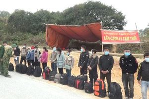 Lạng Sơn phát hiện 421 công nhân nhập cảnh trái phép về quê ăn Tết