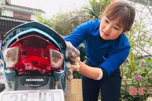 Tuổi trẻ vùng biên Hà Tĩnh rửa xe, bán nếp gây quỹ vì người nghèo