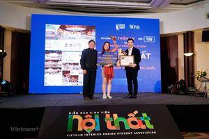 Tôn vinh bản sắc Việt qua giải thưởng thiết kế nội thất cho sinh viên