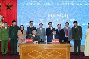 Hải Phòng: Quyết 'an yên' cho các nhà đầu tư trong Khu kinh tế