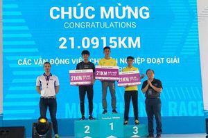 Giải Marathon TPHCM lần 8 năm 2021: Đồng Nai giành giải nhất hai cự ly: 10km, 21km nam