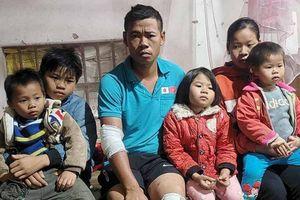 Bố mẹ nghèo gặp nạn, 5 đứa con cơ cực