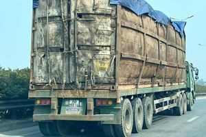 Sử dụng container chở hàng sai mục đích