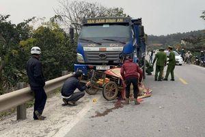 Ô tô đâm xe máy trên đường Hồ Chí Minh, 2 người tử vong