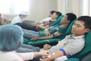 Sôi động ngày hội hiến máu 'Chủ nhật đỏ' ở Đà Nẵng