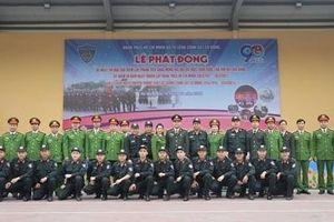 Tuổi trẻ Bộ Tư lệnh CSCĐ phát động 90 ngày cao điểm chào mừng Đại hội Đảng