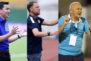 Ba thầy ngoại cùng ra mắt thất bại ở V-League 2021