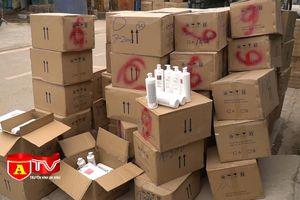 Phát hiện hơn 5.000 chai dầu gội không có hóa đơn chứng từ