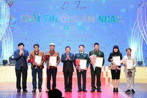 78 tác phẩm, công trình nhận 'Giải thưởng Âm nhạc năm 2020'