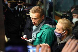 Ông Navalny bị bắt giữ tại sân bay ở Moscow