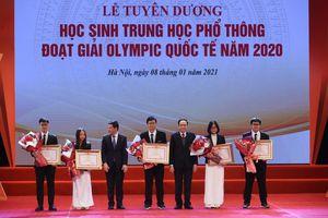 Gần 100 học sinh đoạt giải nhất kỳ thi học sinh giỏi quốc gia