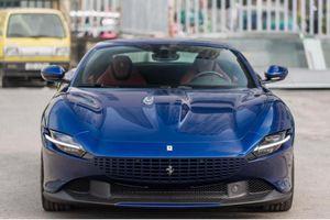 Cận cảnh siêu xe Ferrari Roma hơn 22 tỷ, đầu tiên tại Việt Nam
