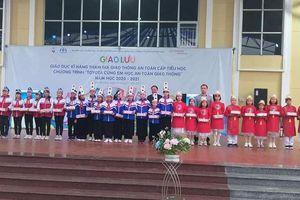 Tuyên Quang: Giáo dục kỹ năng tham gia giao thông an toàn