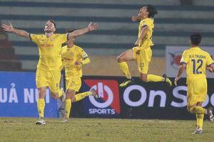 Bảng xếp hạng V.League 2021: CLB Hà Nội đứng cuối bảng