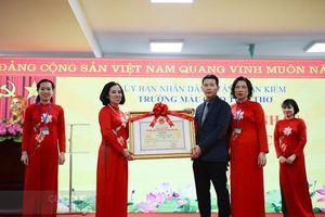Trường mầm non trong khu phố cổ Hà Nội đạt chuẩn Quốc gia